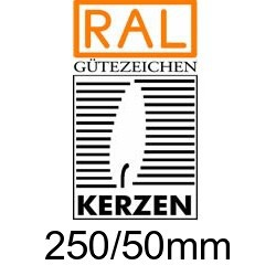 Altarkerzen Ceresin 250/50mm
