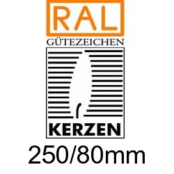 Altarkerzen Ceresin  250/80mm