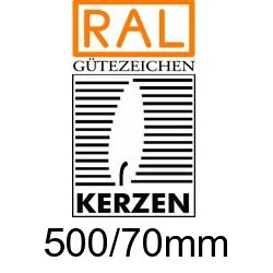 Altarkerzen Ceresin 500/70mm