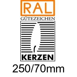 Altarkerzen Ceresin  250/70mm